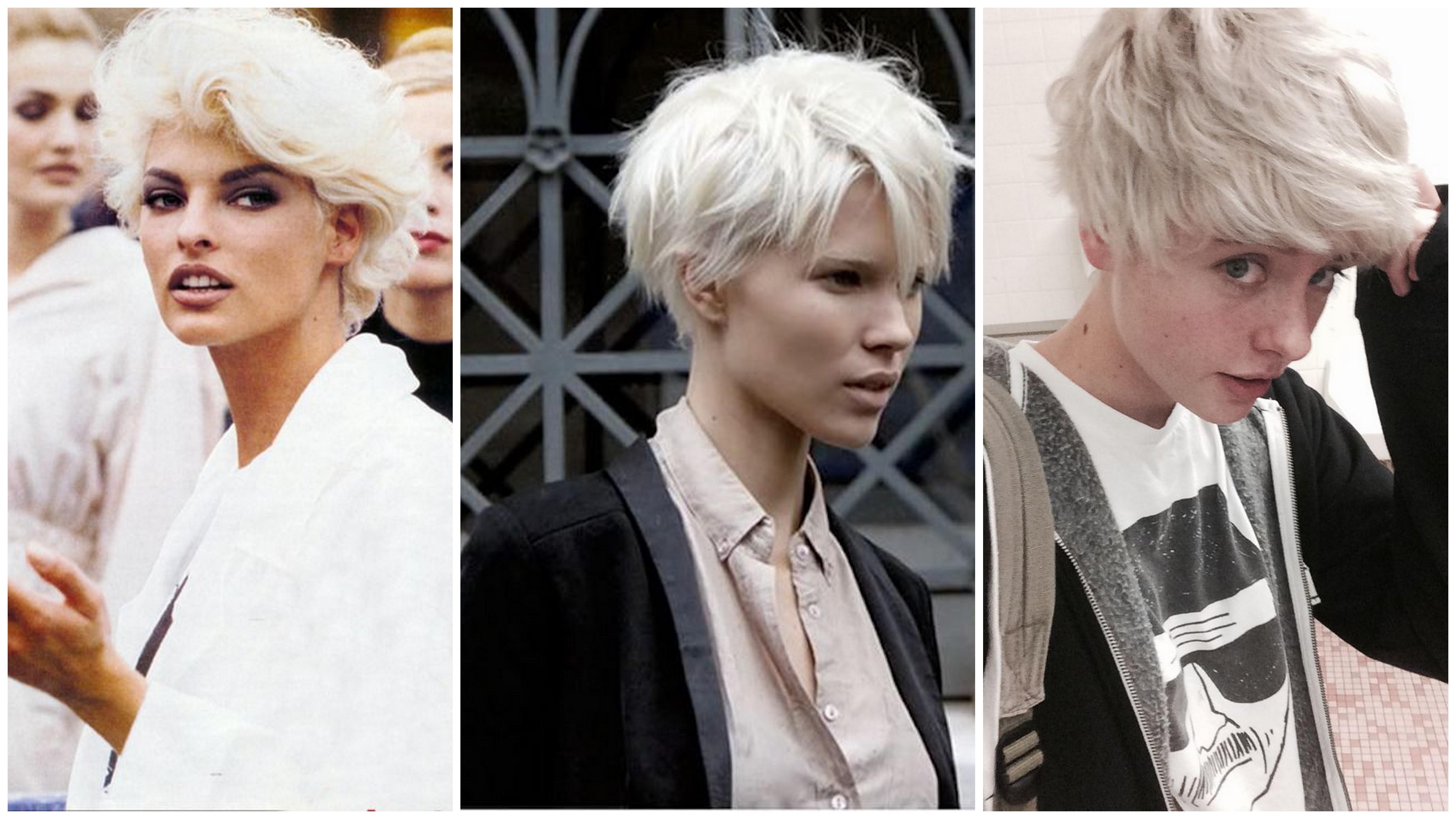 tagli capelli bianchi corti