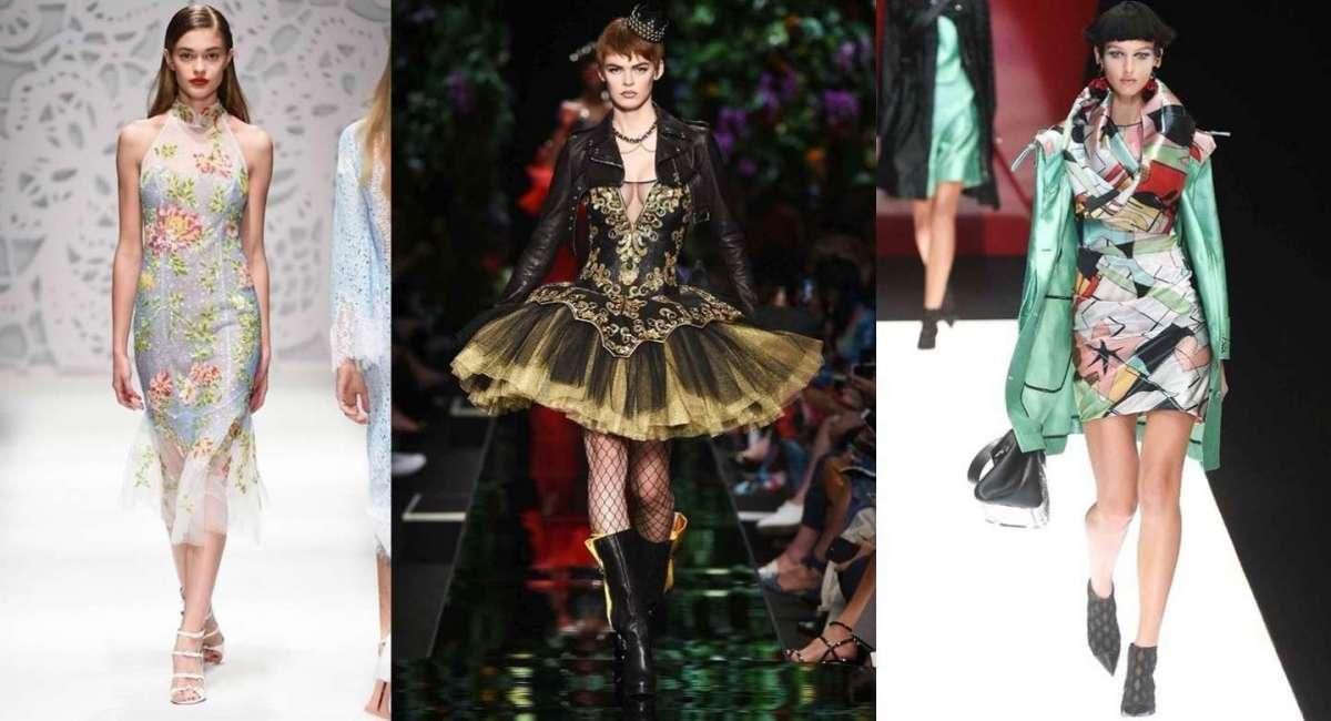 Le tendenze moda Primavera/Estate 2018 da Milano Moda Donna