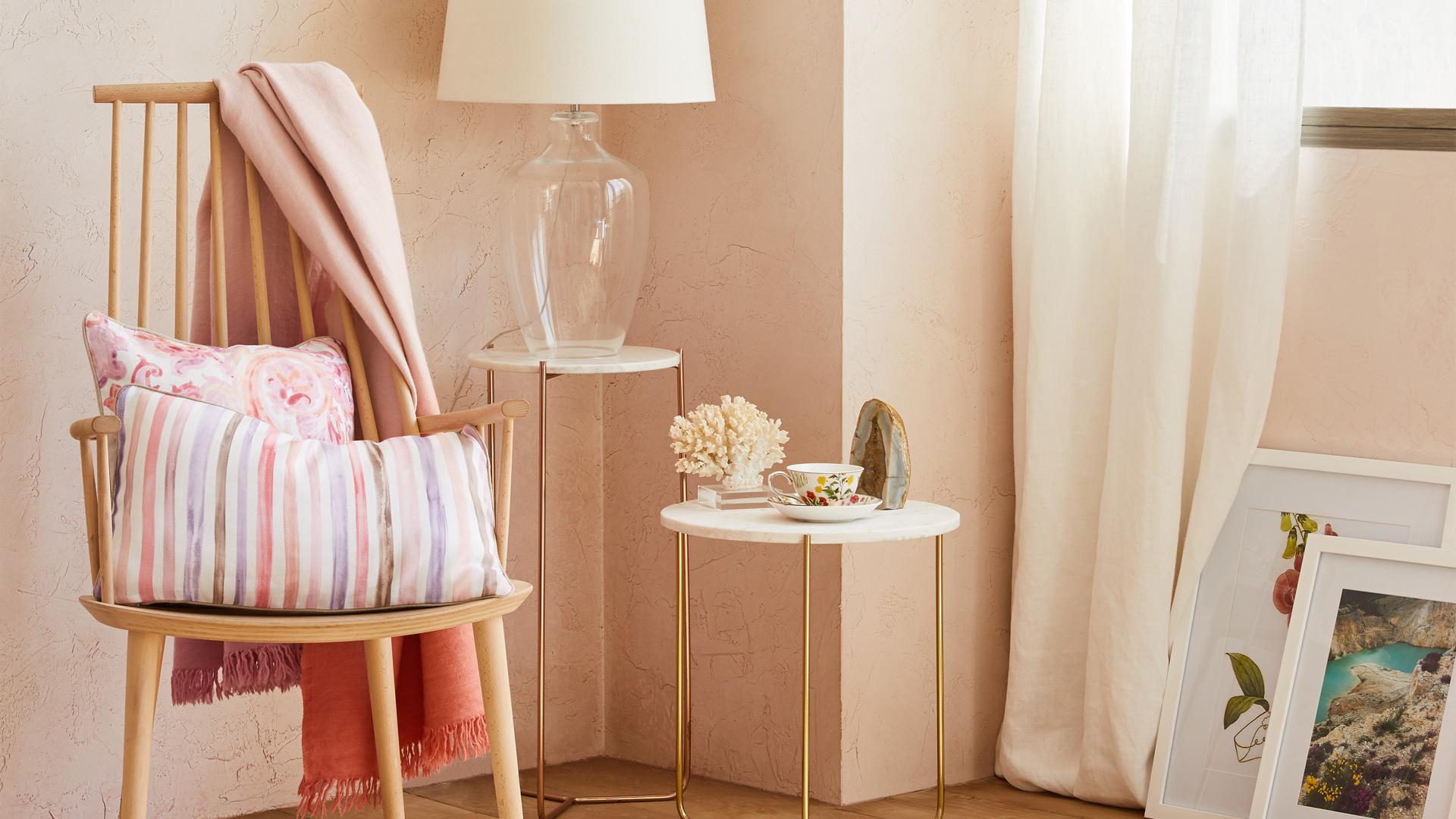 Pezzi Di Design Da Avere zara home: 10 oggetti rosa cipria da avere | pourfemme