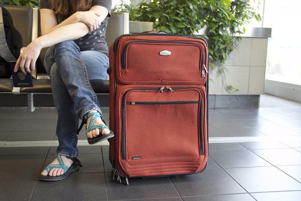 Aeroporto valigia
