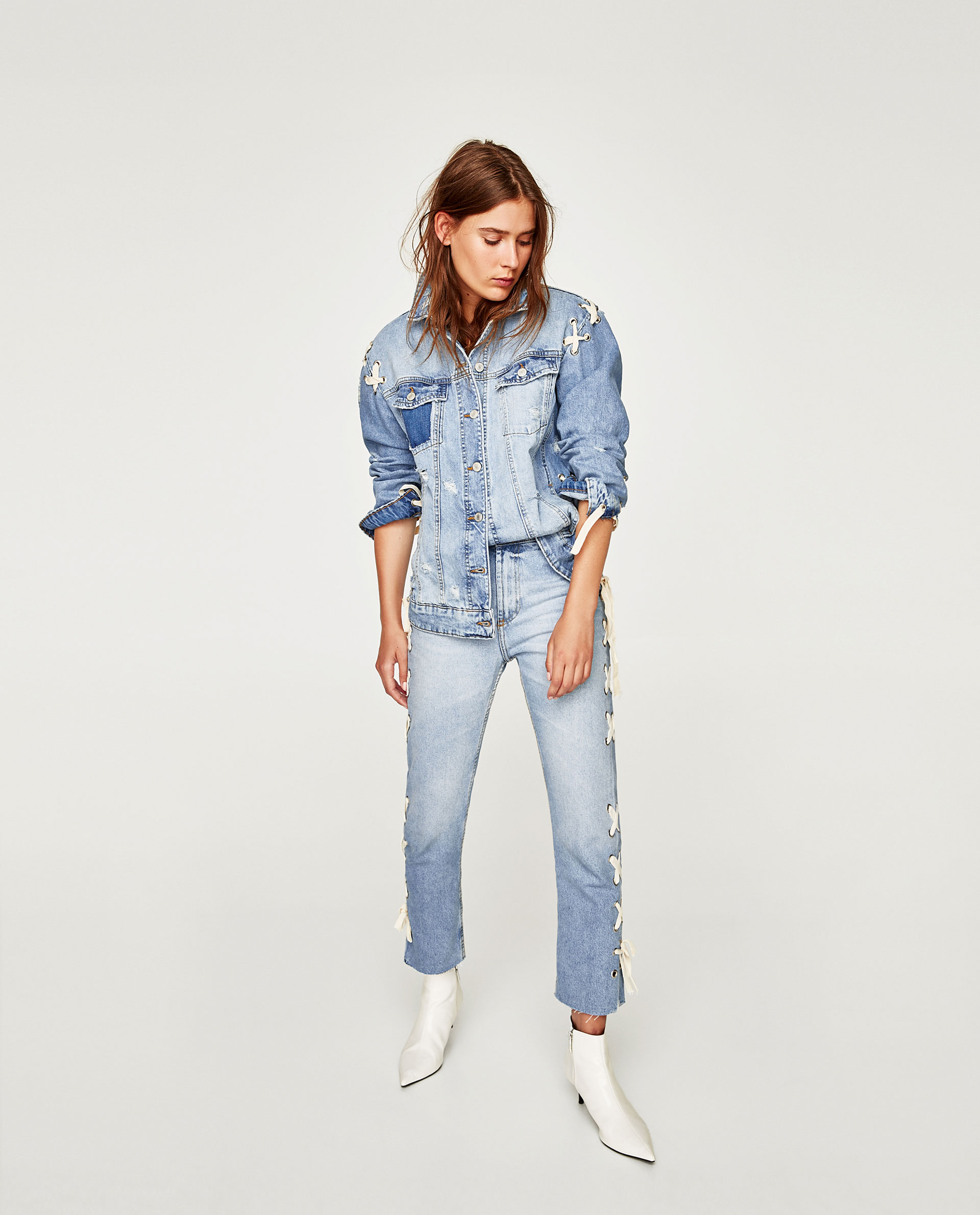 più gli Pourfemme fashion Giubbino jeans FOTO di abbinamenti w6nIEgERq