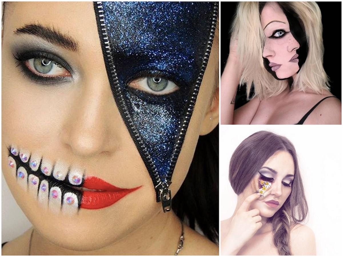 Illusion make-up: il trucco con effetti ottici perfetto per Halloween