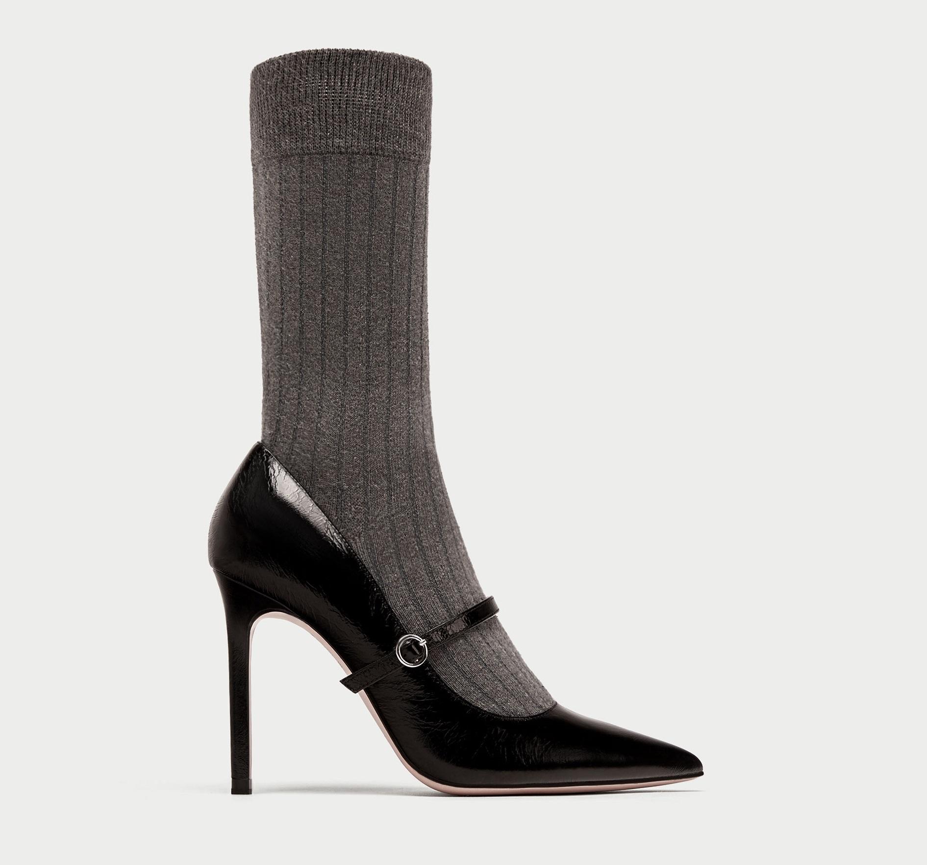 Scarpe a calza Zara