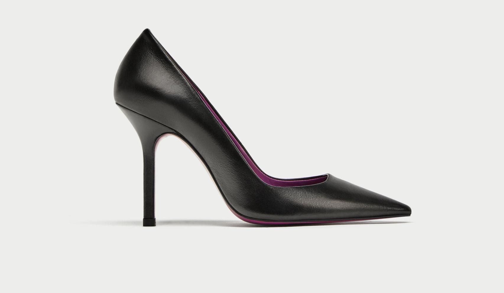 Scarpe a punta Zara