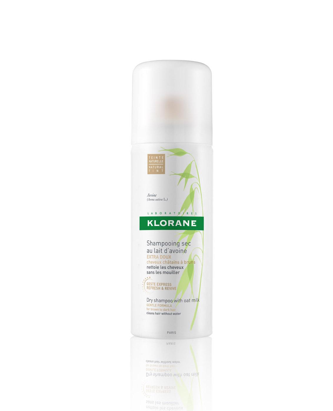 Shampoo secco Klorane con latte d'avena