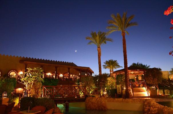 Sharm el Sheikh villaggio palme
