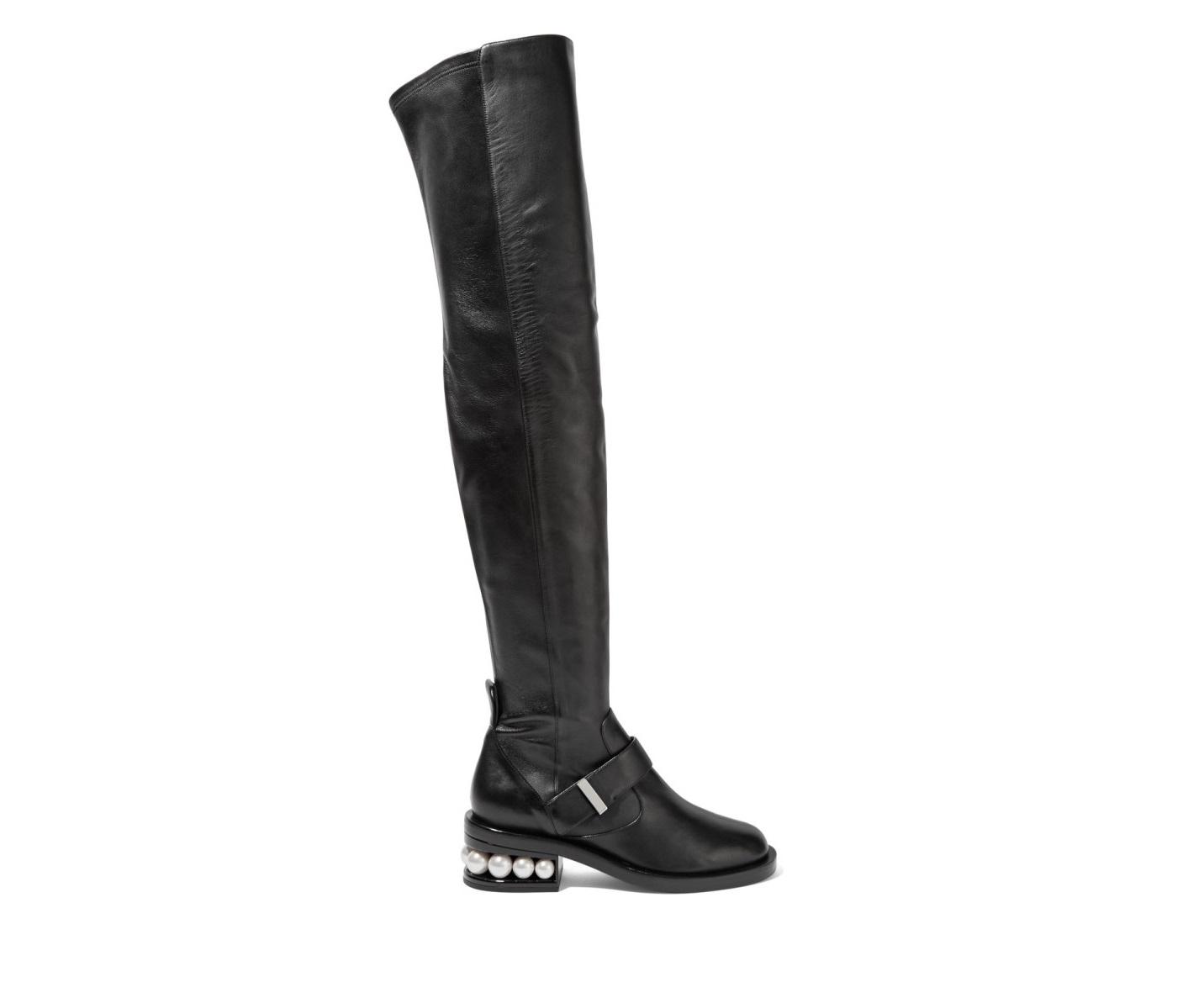 Stivali in pelle Nicholas Kirkwood