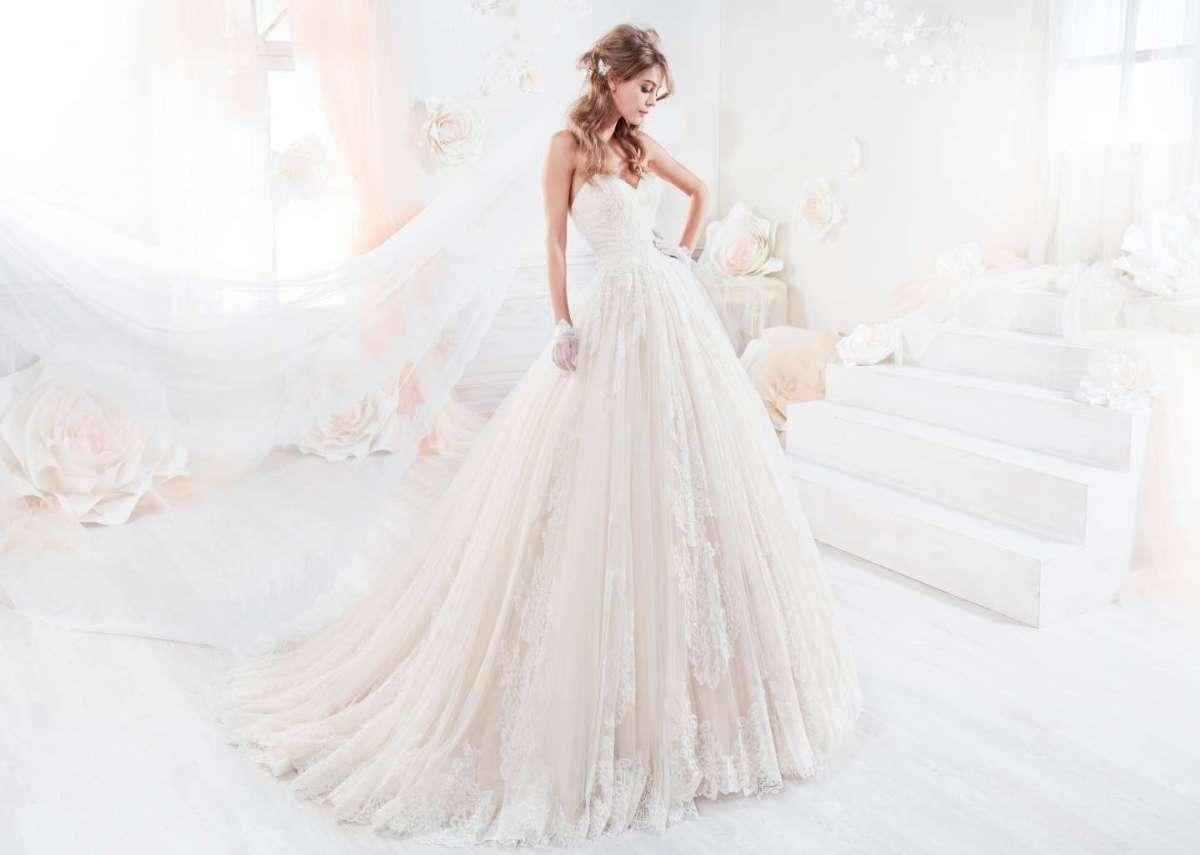 9cf94d701689 Abiti da sposa rosa 2018