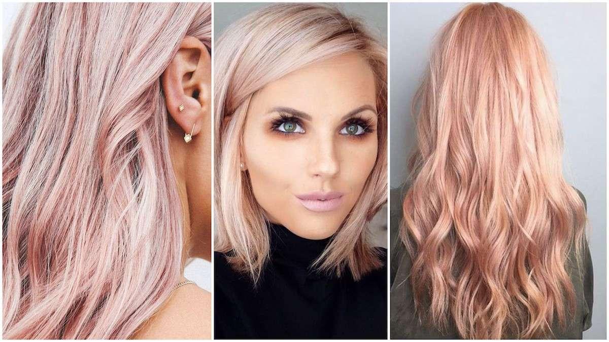 Colore capelli Rose Gold 1aa0a574b298
