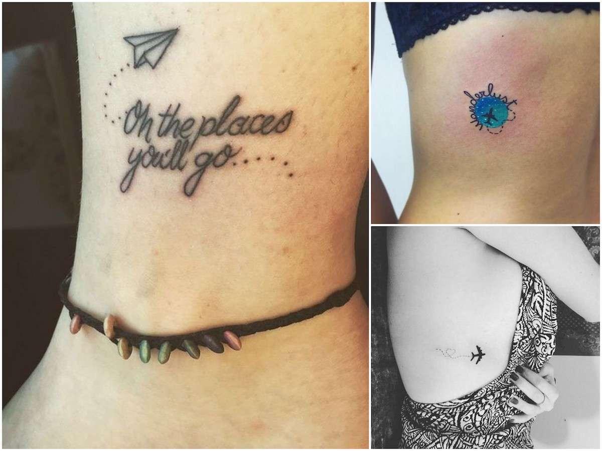 Tatuaggi a tema viaggio: i tattoo per chi ama viaggiare