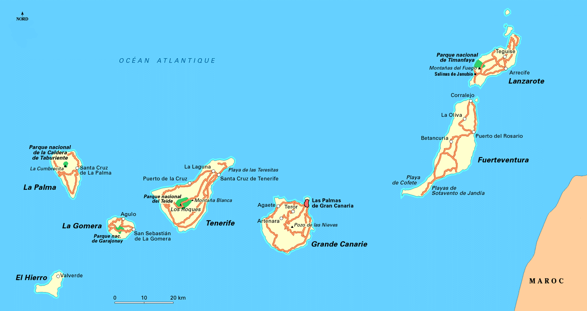 isole canarie spagna