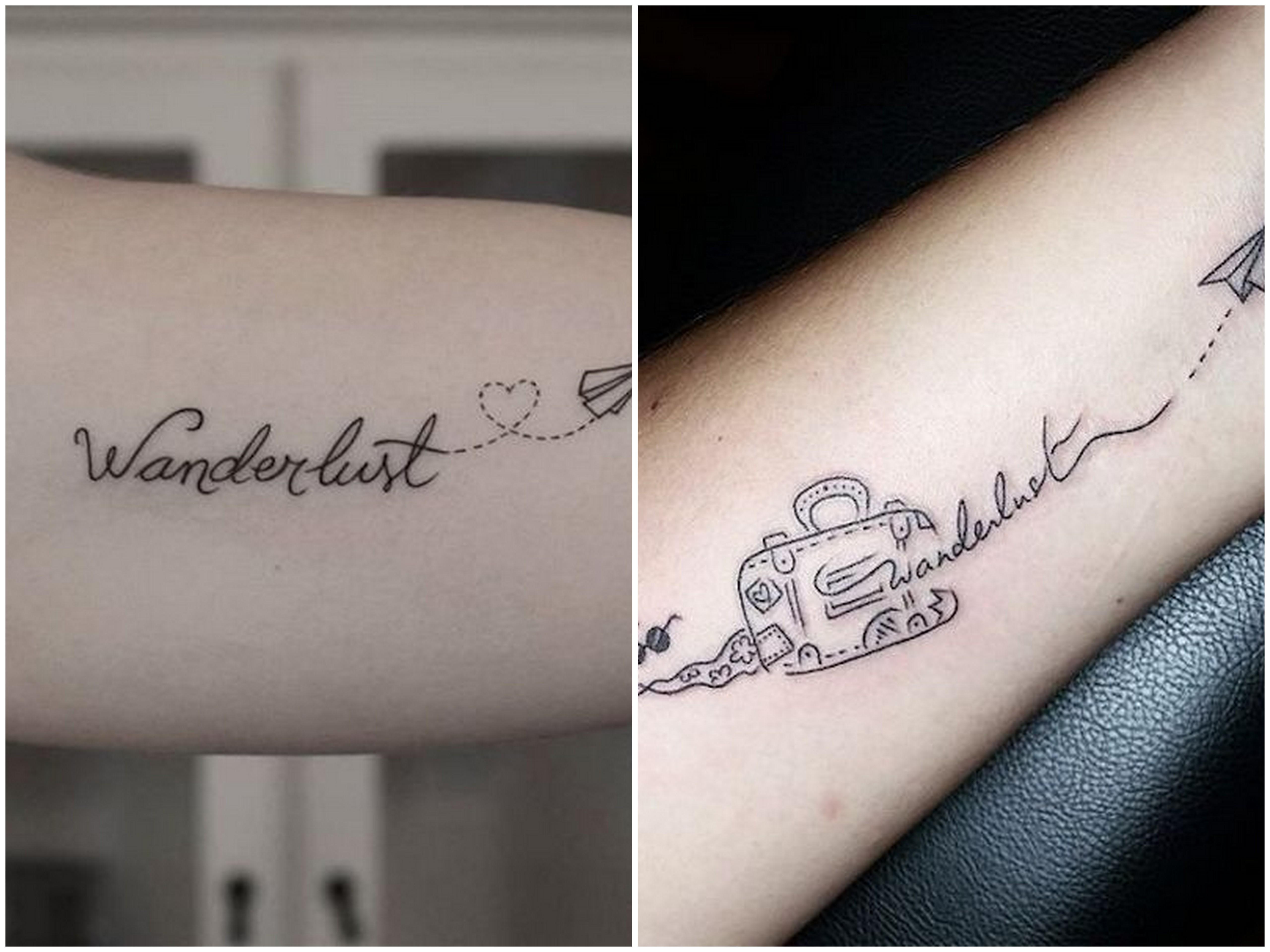 tatuaggio wanderlust significato