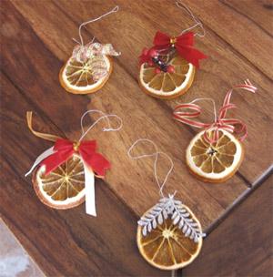 Addobbi Natale arance