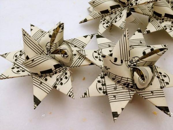 Addobbi Natale di carta