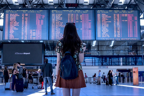 Aeroporto quando andare