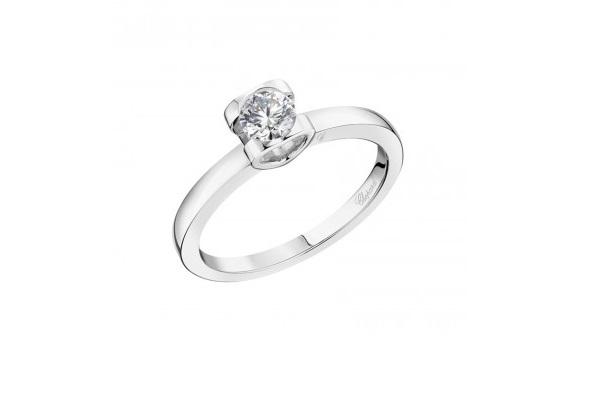 Anello di fidanzamento con diamanti Chopard