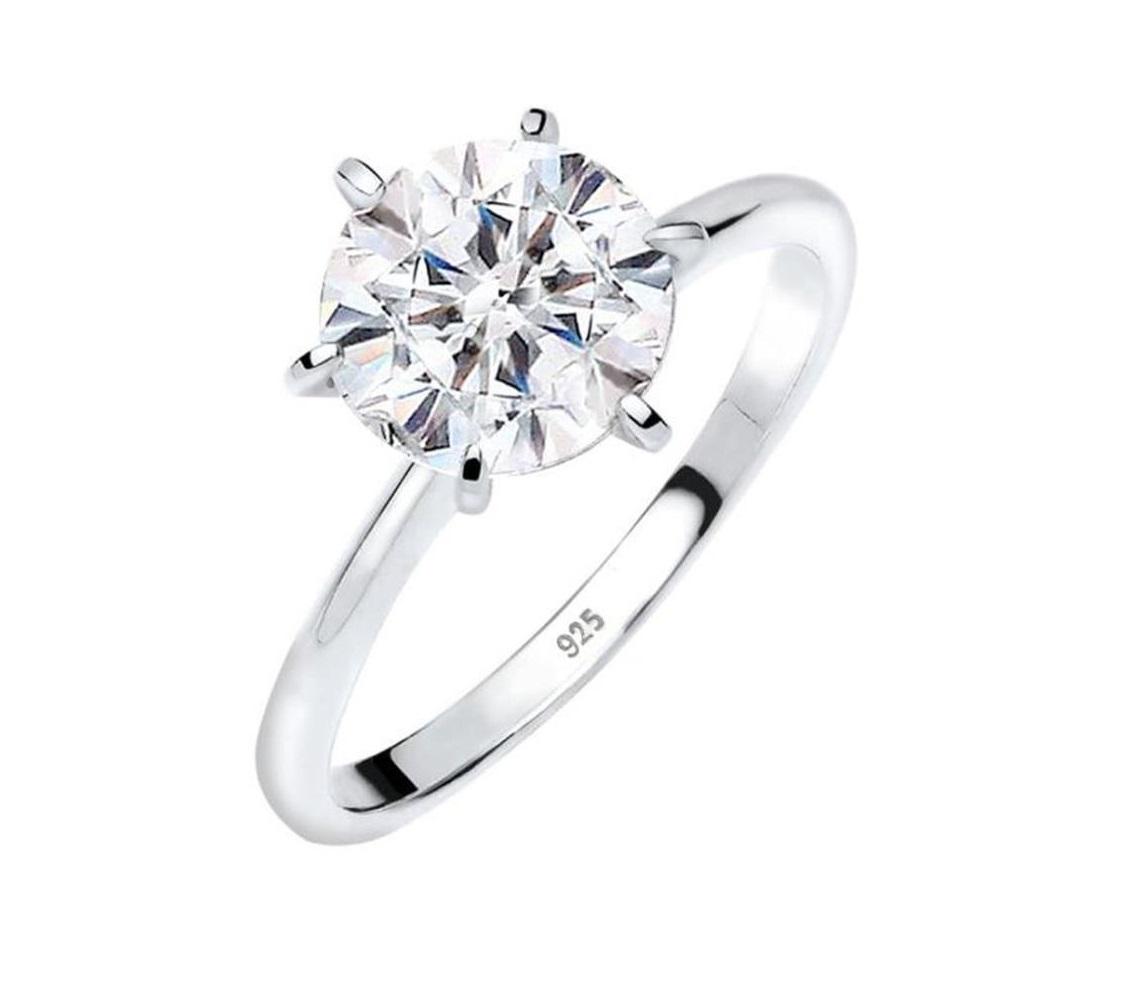 Anello di fidanzamento in argento Elli