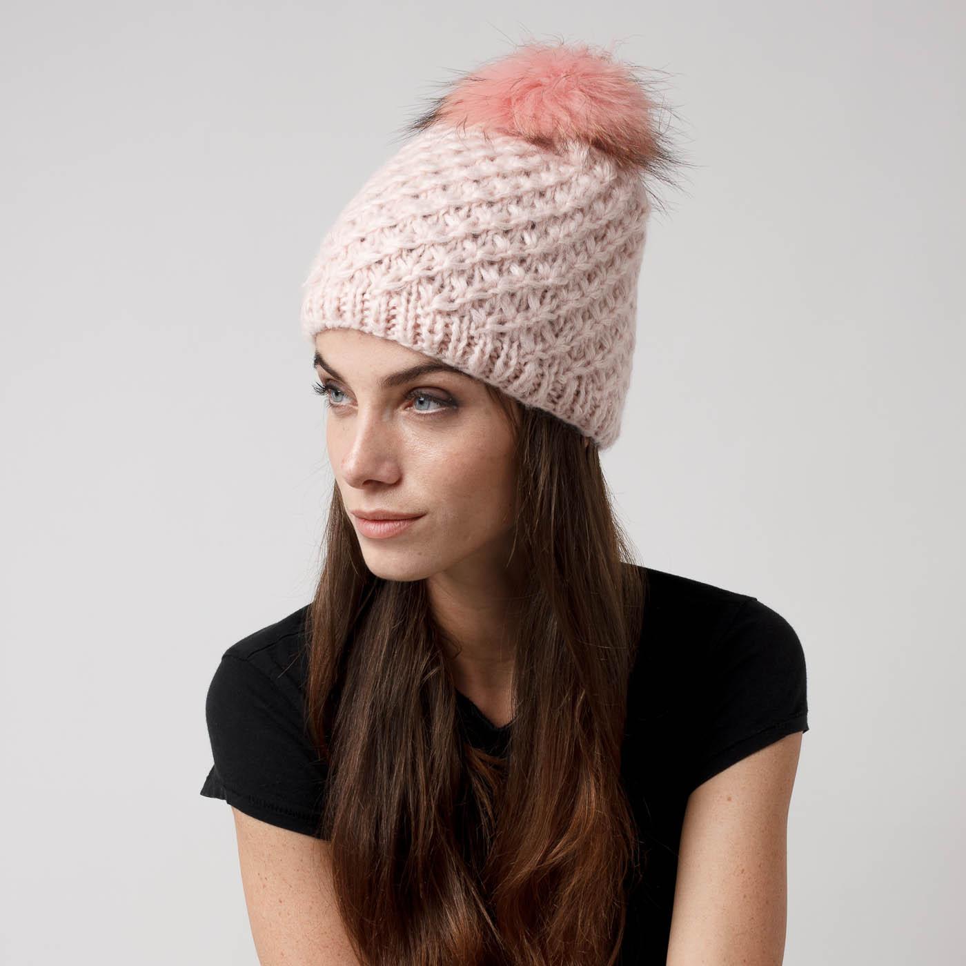 Beanie hat con pon pon Colours Beauty