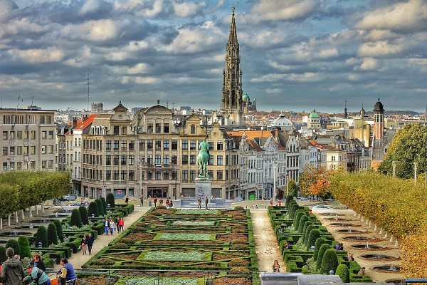 Bruxelles ponte immacolata