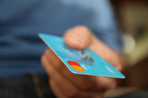 Carta di credito pagamento