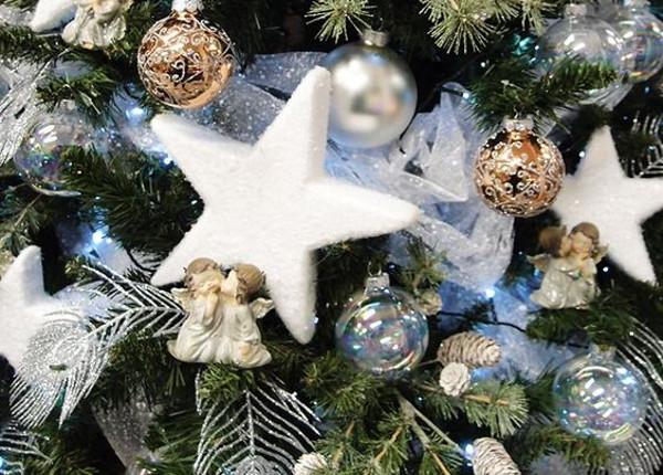 Decorazioni Natale polistirolo