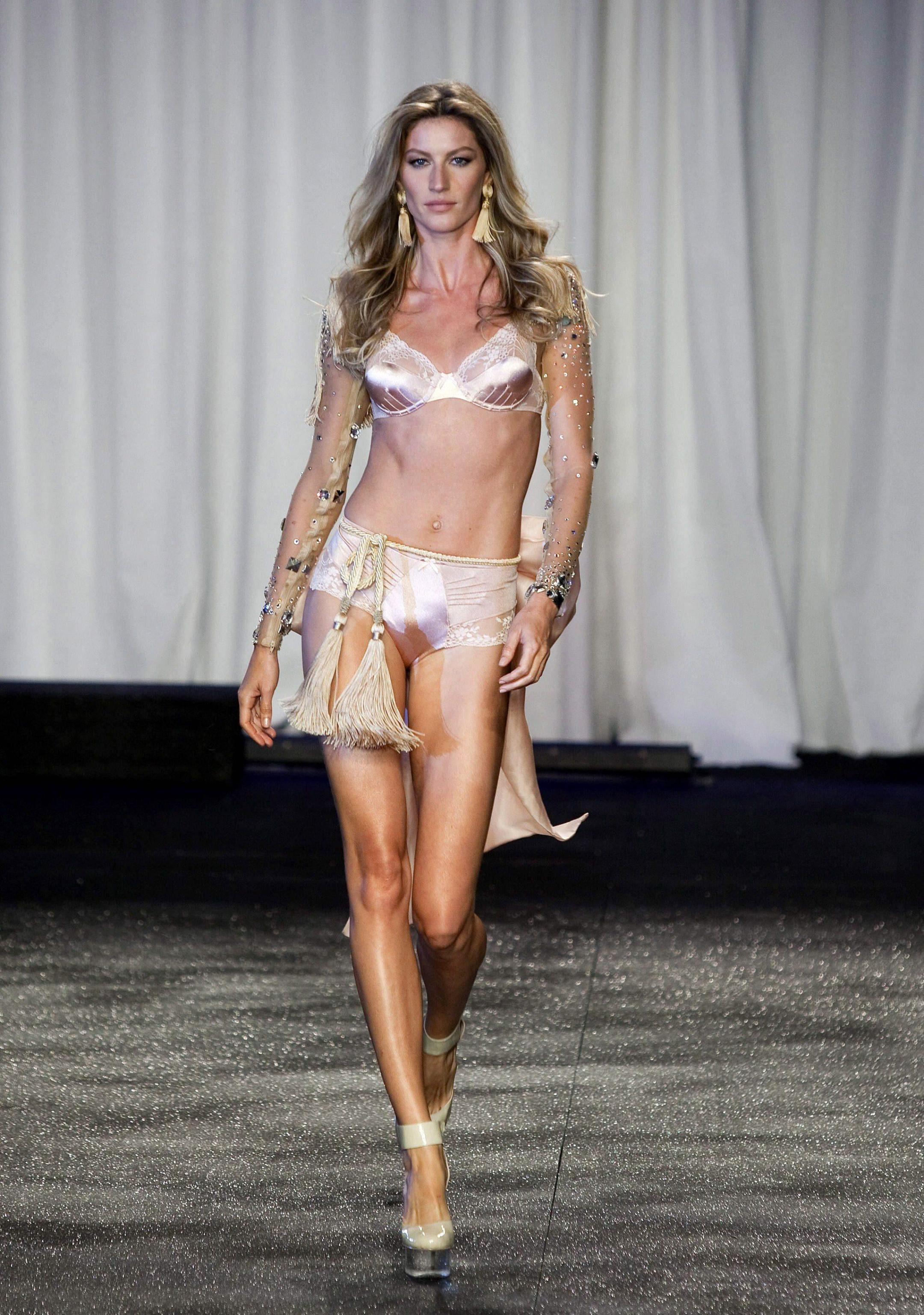 Gisele Bundchen, world's highest paid top model in 2012