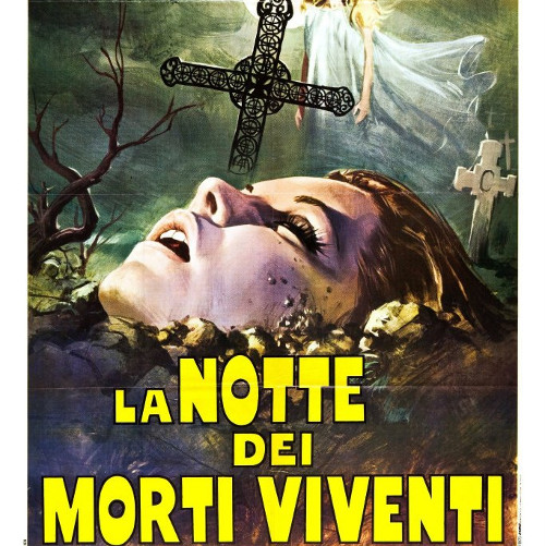 La Notte dei Morti Viventi film horror