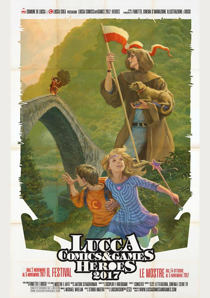 Lucca Comics And Games 2017 Poster