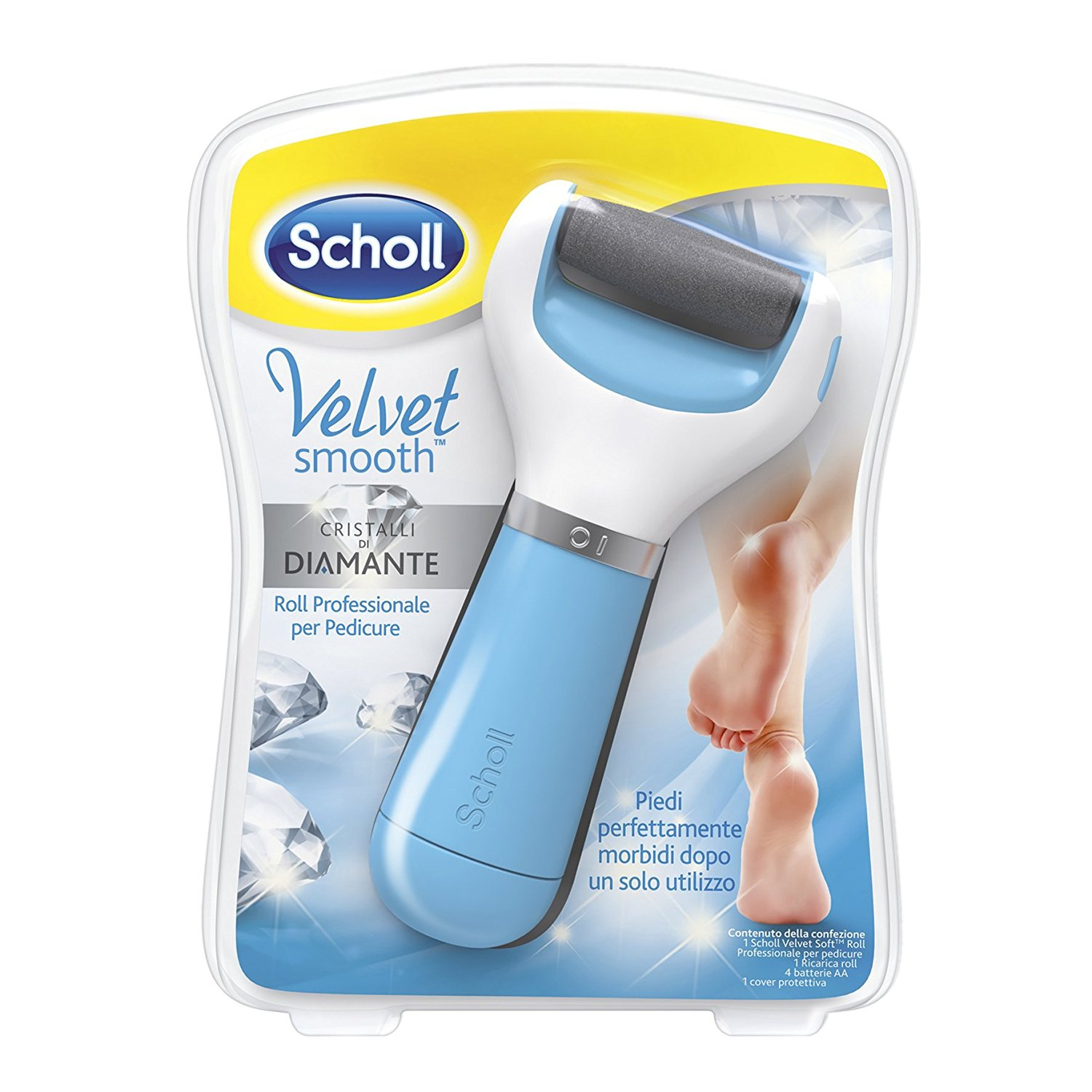 Roll professionale per pedicure Velvet Smooth Scholl