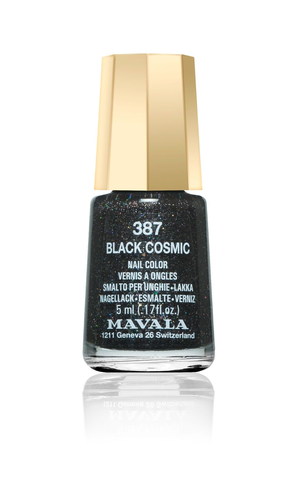 Smalto nero metallizzato Black Cosmic Mavala