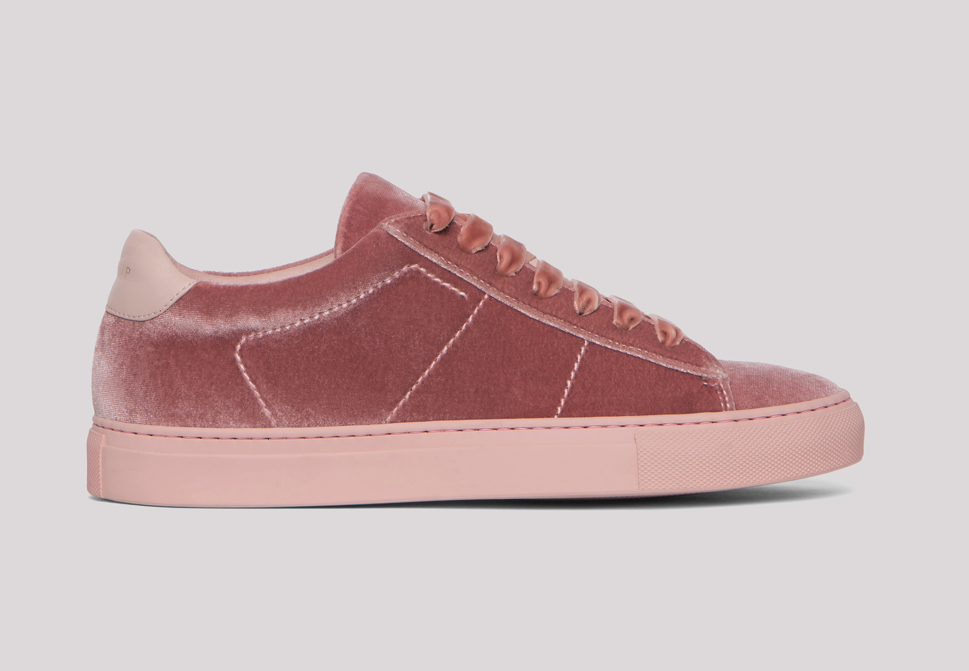 Sneakers in velluto Dondup
