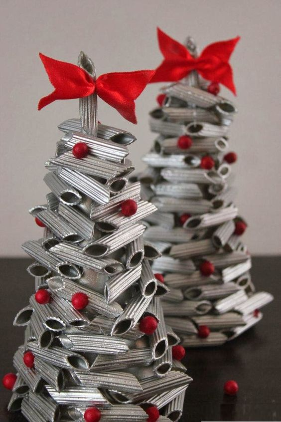 Lavoretti Natale Pinterest.Lavoretti Per Natale Con La Pasta Idee Originali E Facili
