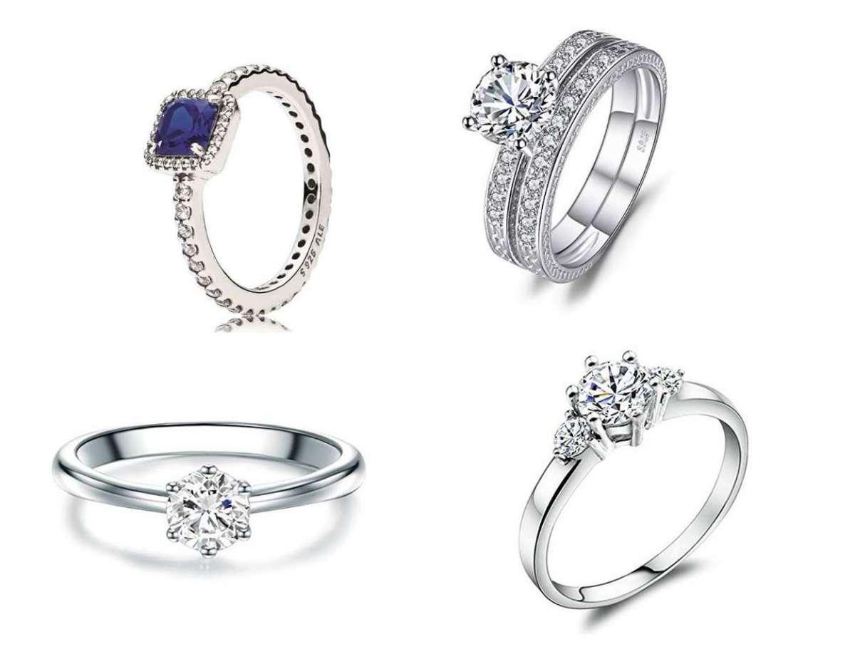 cercare dettagliare stili diversi Anelli di fidanzamento economici: i modelli più romantici ...