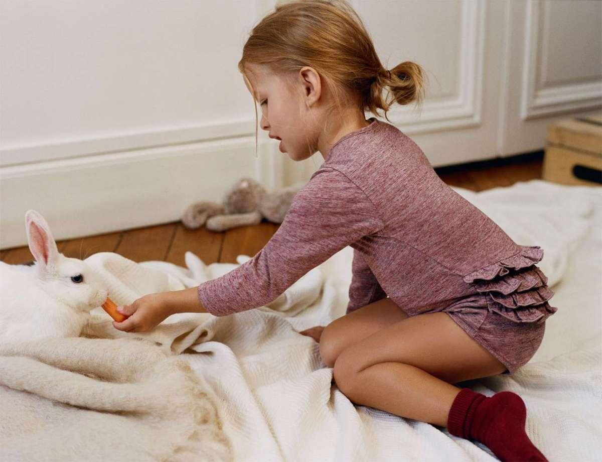 I vestiti per bambino e bambina di Zara per essere alla moda durante la stagione fredda