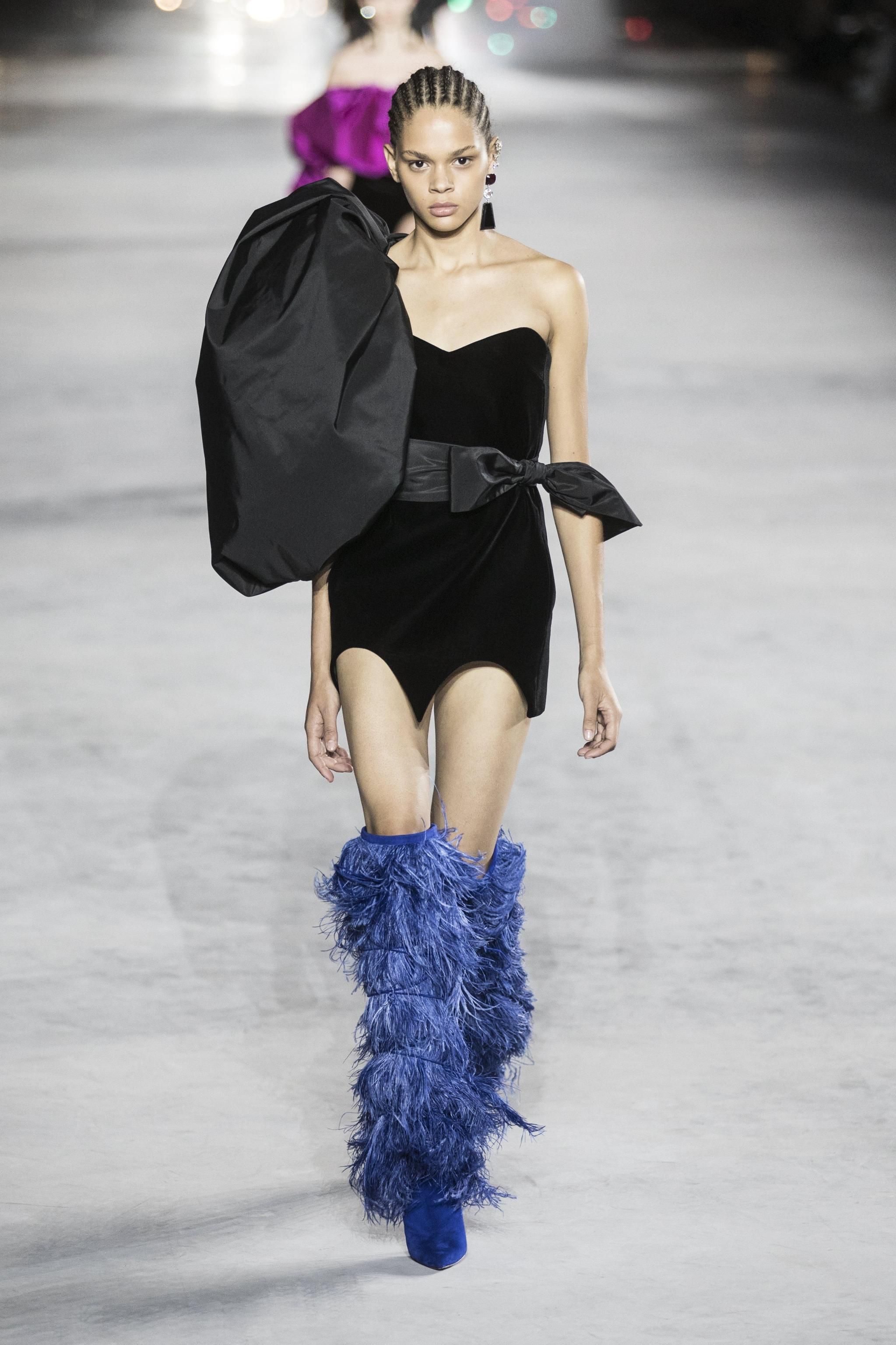 Saint Laurent Runway Paris Fashion Week Ready to Wear S/S 2018