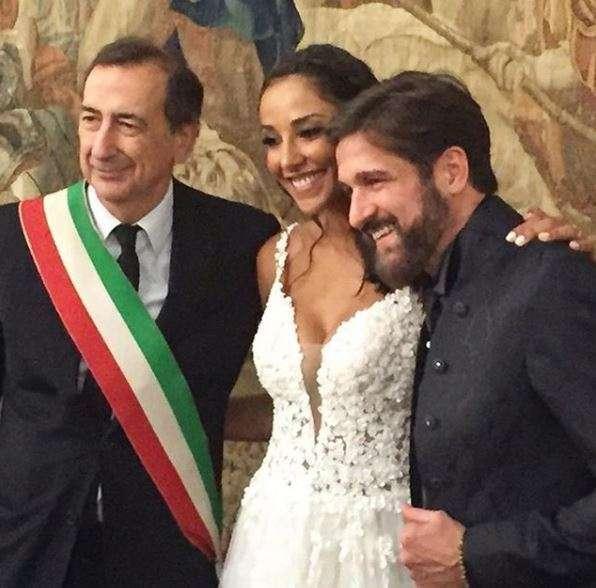 Juliana Moreira e Edoardo Stoppa sposi: le foto social del matrimonio
