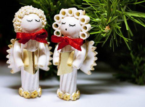 Lavoretti di Natale con la pasta
