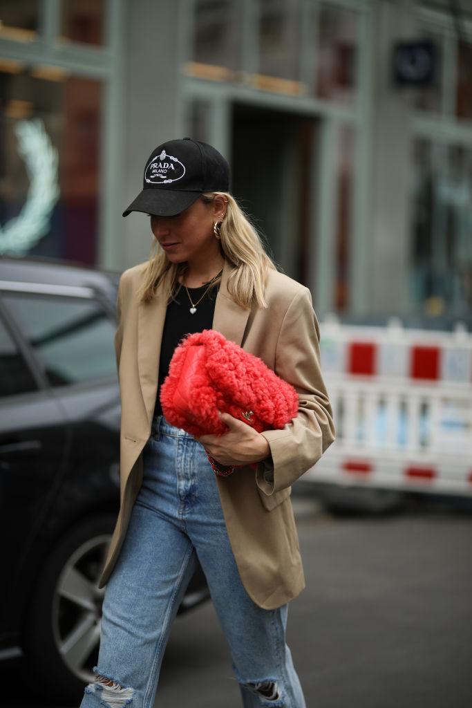 Look cappello Prada