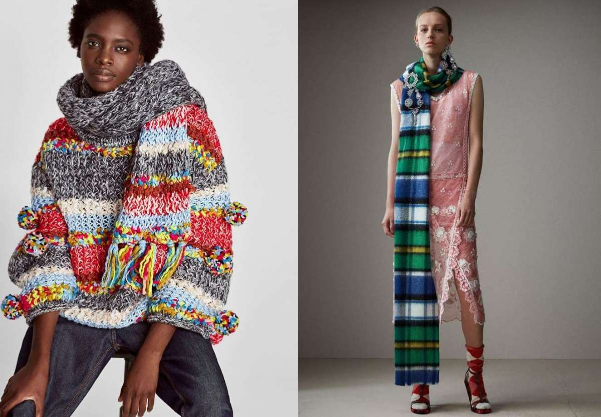 Sciarpe da donna per l'inverno: le più belle per look fashion