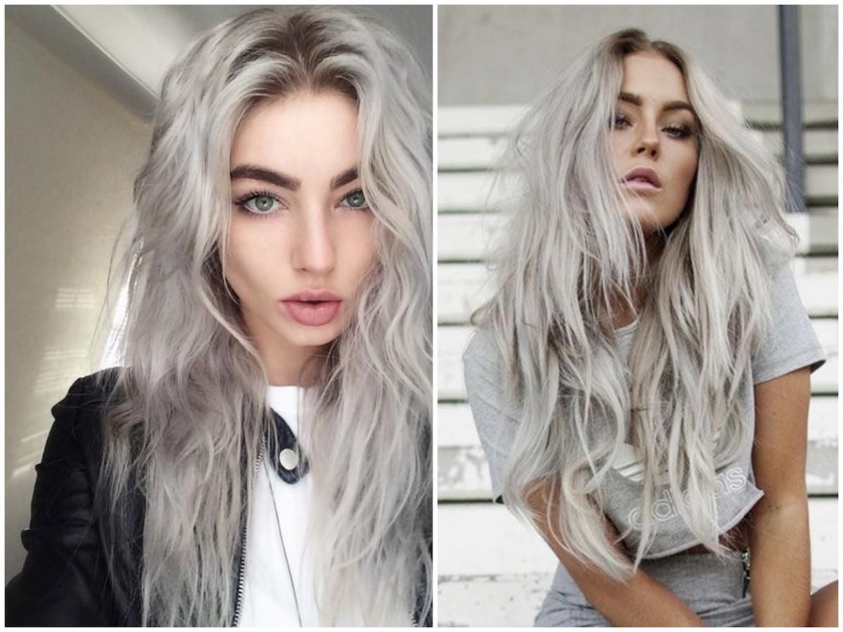 shatush grigio capelli biondi