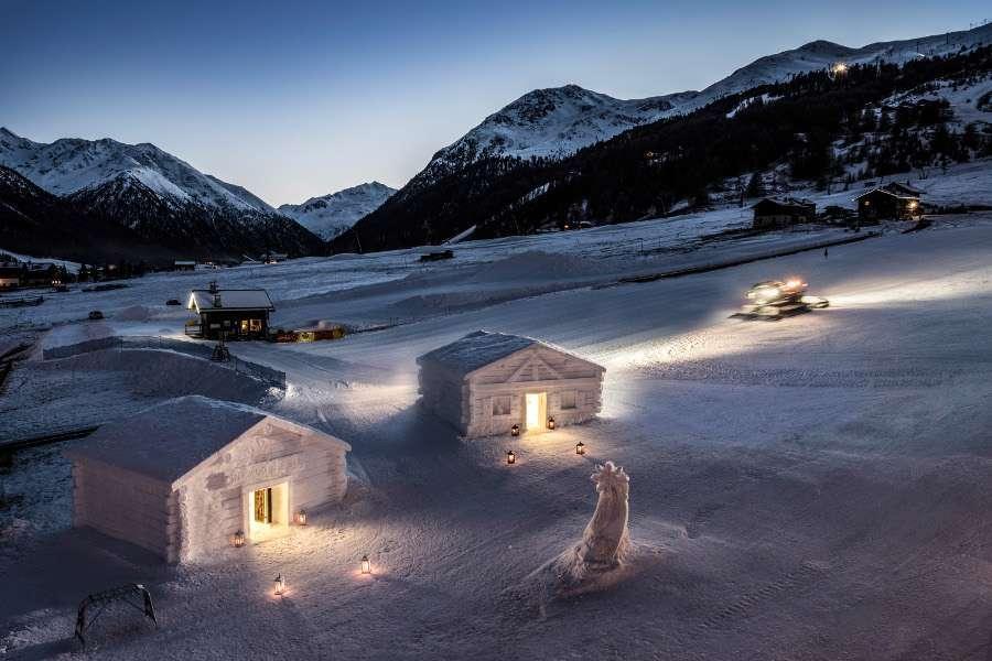 Snow Suite: a Livigno si dorme in chalet di neve