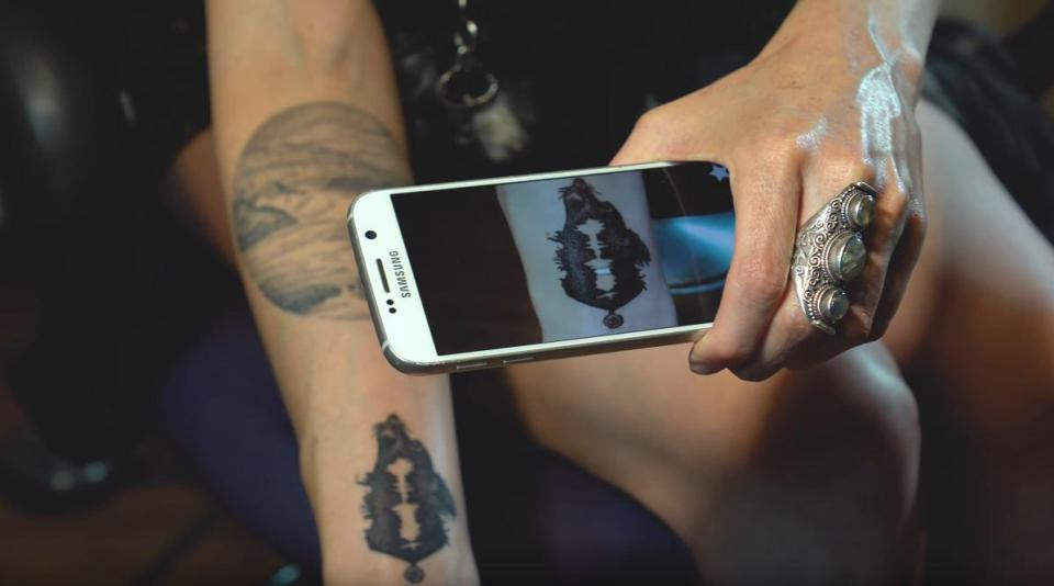 soundwaves tattoo