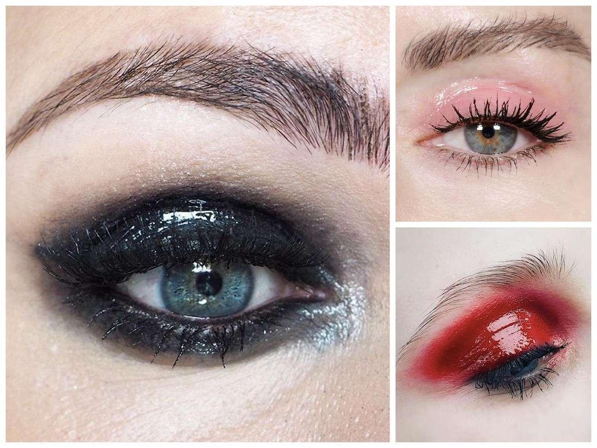 Glossy eyes: la tecnica per un trucco occhi effetto bagnato