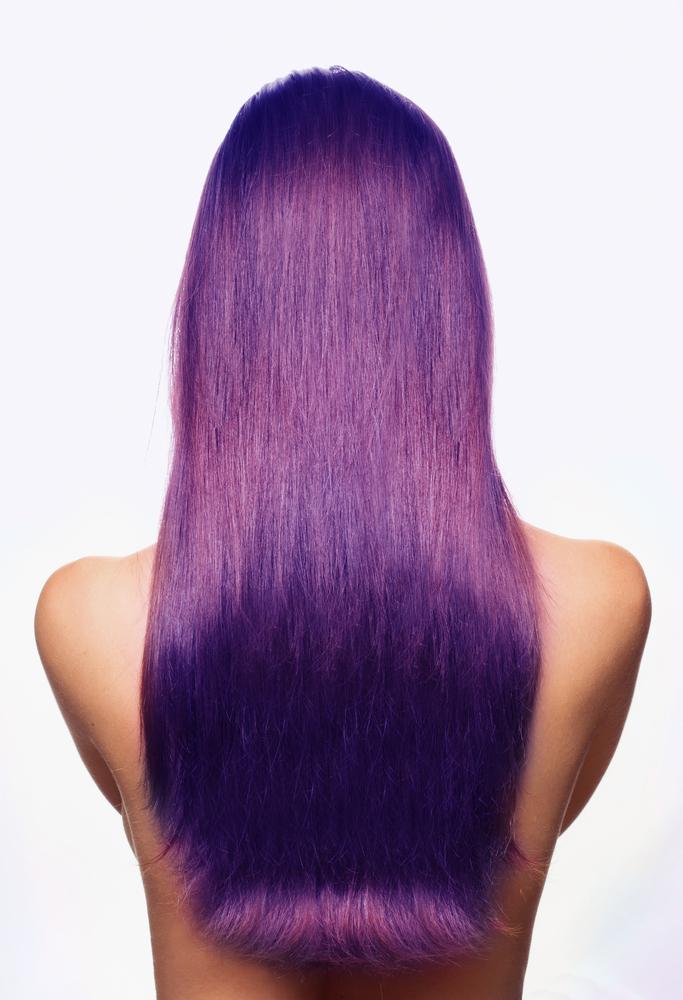Capelli Ultra Violet pantone 2018