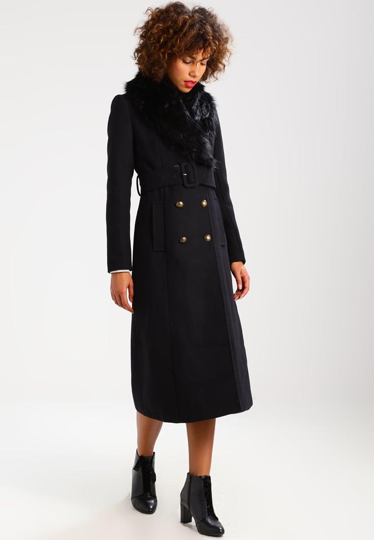 Cappotto doppiopetto lungo Mint & Berry abbigliamento saldi invernali 2018