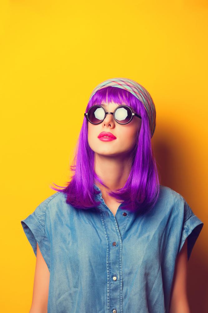 capelli ultra violet pantone 2018 taglio medio