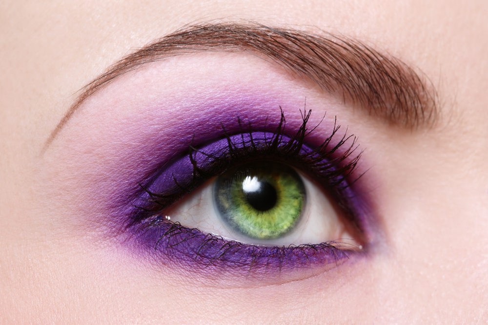 make up Ultra Violet per occhi verdi