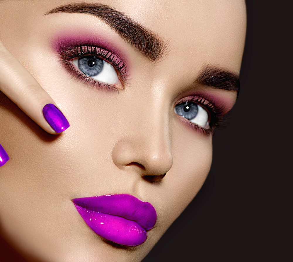Trucco e unghie Ultra Violet