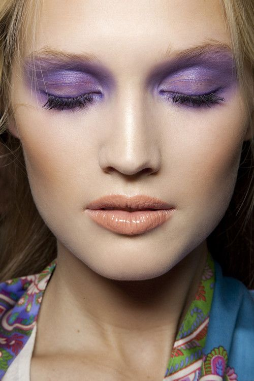 Trucco occhi Ultra Violet