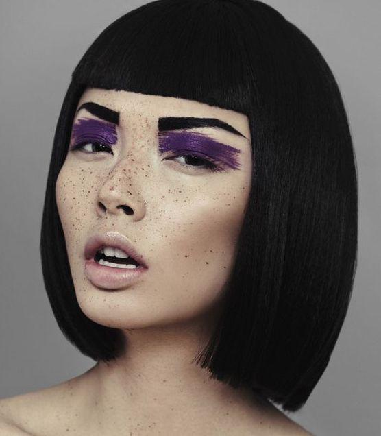 Trucco per more Ultra Violet pantone 2018